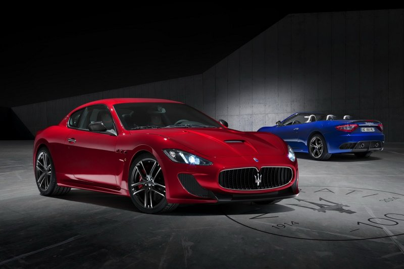 GranTurismo MC Centennial Edition – эксклюзив от Maserati