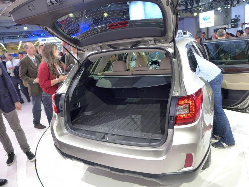 Нью-Йорк 2014: Subaru показал Outback нового поколения