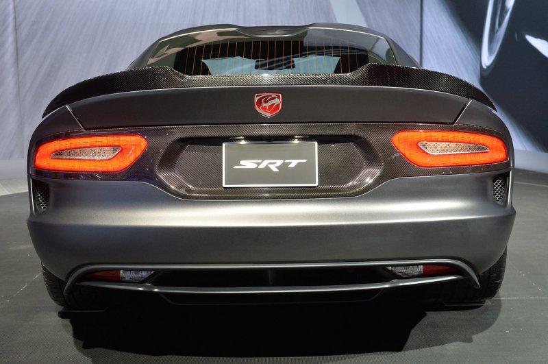 Нью-Йорк 2014: SRT Viper TA Anodized Carbon Special Edition