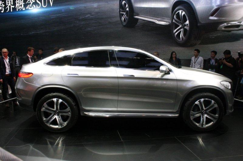 Пекин 2014: Mercedes-Benz Concept Coupe SUV