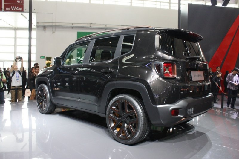 Пекин 2014: Jeep Renegade Zi You Xia Concept