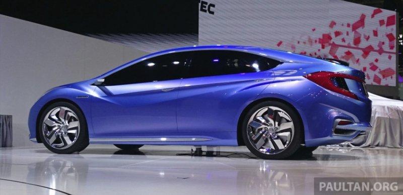 Пекин 2014: Honda представила Concept B Hybrid