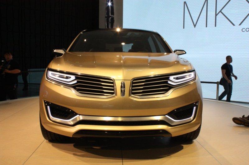 Пекин 2014: Lincoln представил концептуальный внедорожник MKX