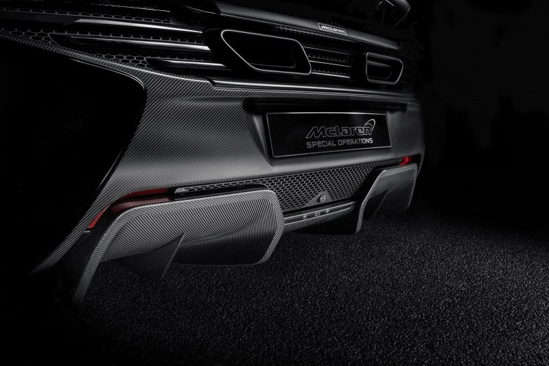 McLaren 650S Coupe Concept от McLaren Special Operations
