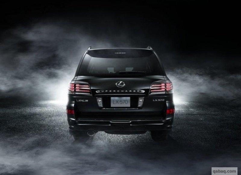 Lexus оснастил внедорожник LX 570 компрессором