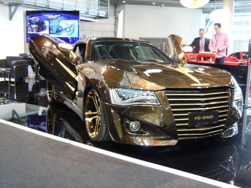 Эксклюзивный Chrysler Crossfire от итальянского ателье FB-ONE