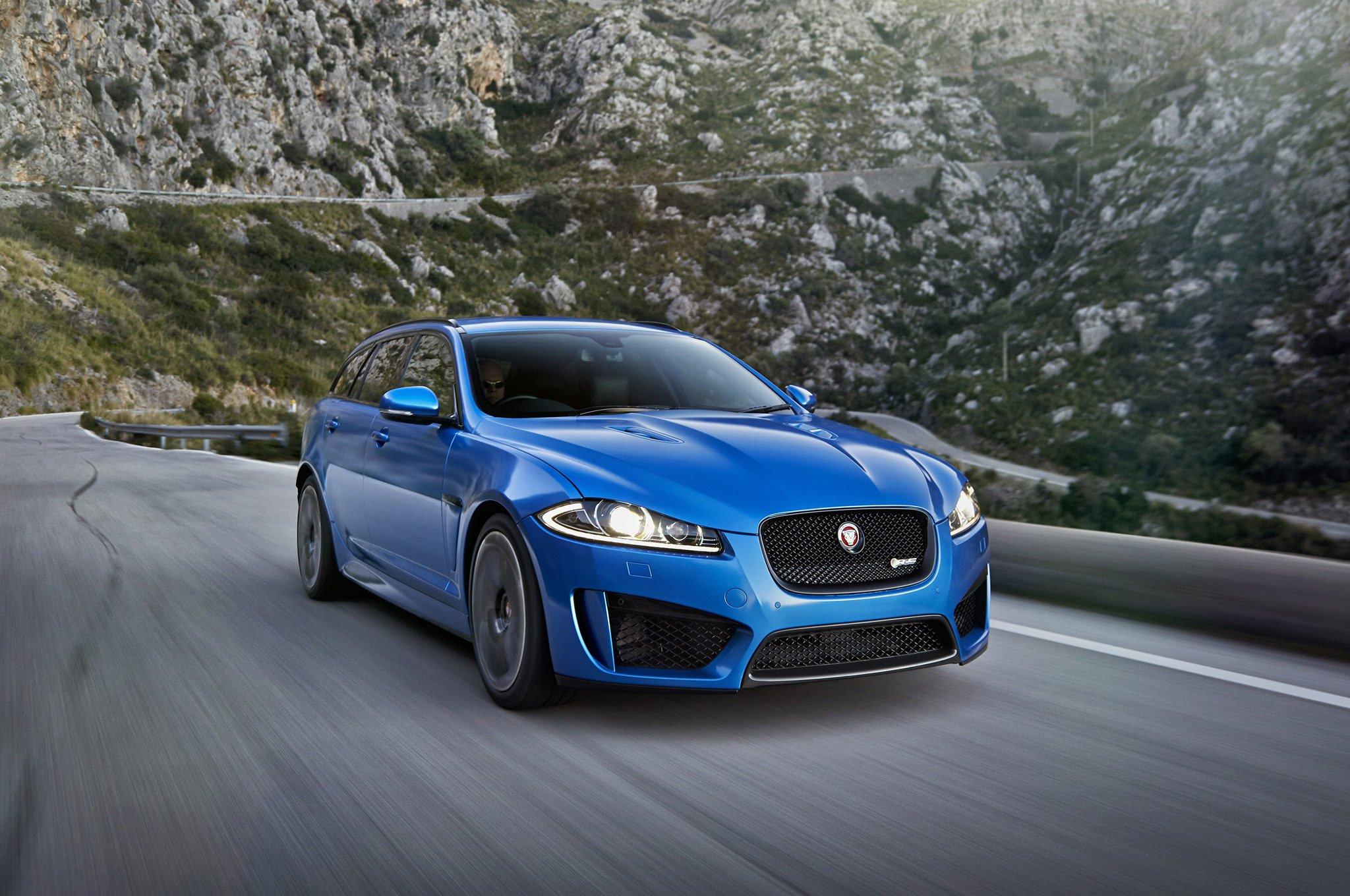 Тест-драйв Jaguar XFR-S Sportbrake (2015)