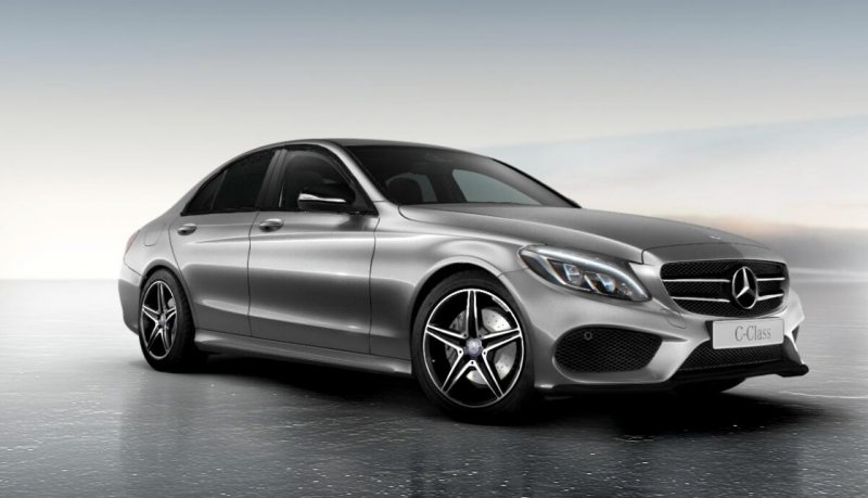 Mercedes-Benz разработал пакет Night Package для C-Class W205