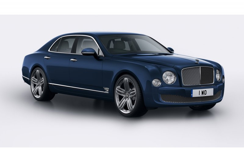 Bentley представил Mulsanne 95 Limited Edition