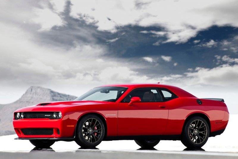 Dodge представил «заряженный» масл кар Challenger SRT Hellcat