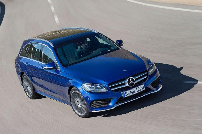 В сети появились первые фото Mercedes-Benz C-Class Estate W205
