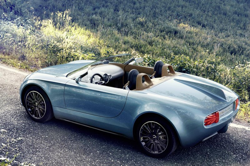Superleggera Vision – новый родстер от MINI и Touring Superleggera