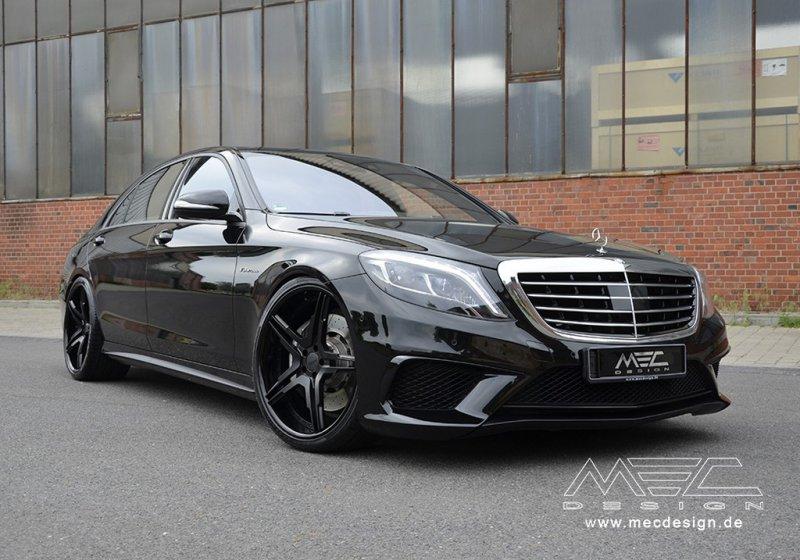 Mercedes-Benz S63 AMG W222 от MEC Design