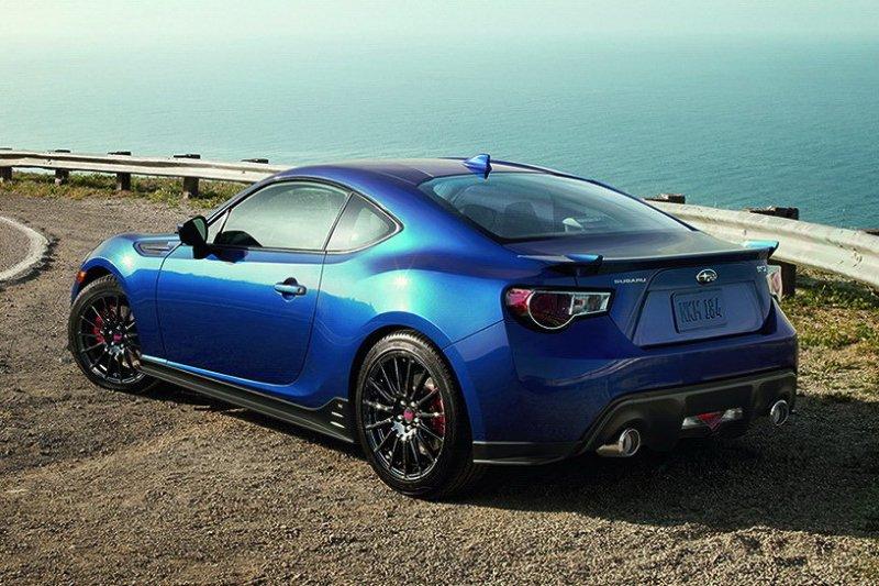 Subaru BRZ Series.Blue - эксклюзив для рынка США