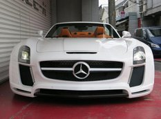 Mercedes SLS Roadster Jetstream в обвесе FAB Design от Office-K