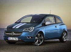 RM Design представил тизеры нового поколения Opel Corsa