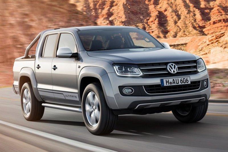 Пикап Volkswagen Amarok обзавелся премиальной версией Ultimate