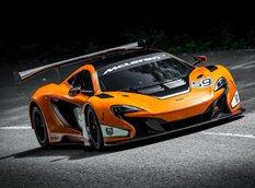 McLaren представил гоночный болид 650S GT3