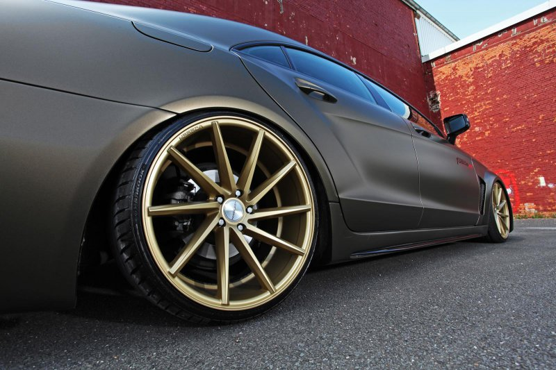 Mercedes-Benz CLS 350 CDI от ателье Fostla