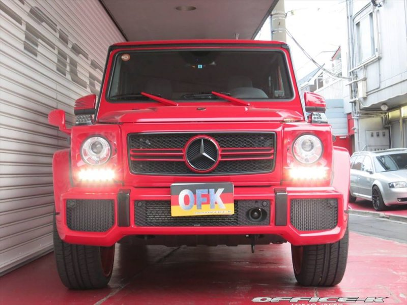 Mercedes G63 AMG в экстравагантном тюнинге Office-K