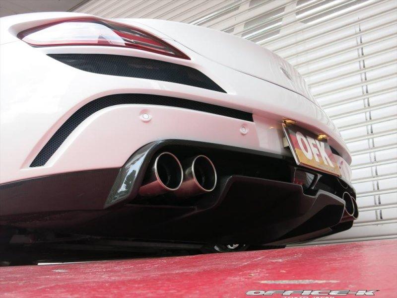 Mercedes SLS Roadster Jetstream в обвесе FAB Design от Office-K