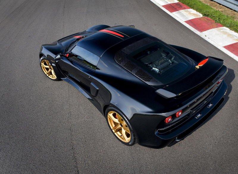 Lotus порадовал своих поклонников спецверсией Exige LF1
