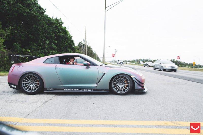 South Side Performance построил заднеприводный Nissan GT-R