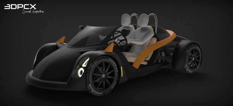 Есть ли будущее у автомобилей, напечатанных на 3D-принтере?