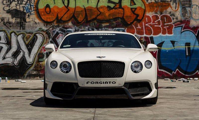 Vorsteiner Bentley Continental GT на дисках Forgiato Wheels