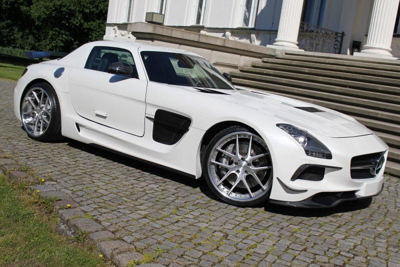Mercedes-Benz SLS AMG от SGA Aerodynamics