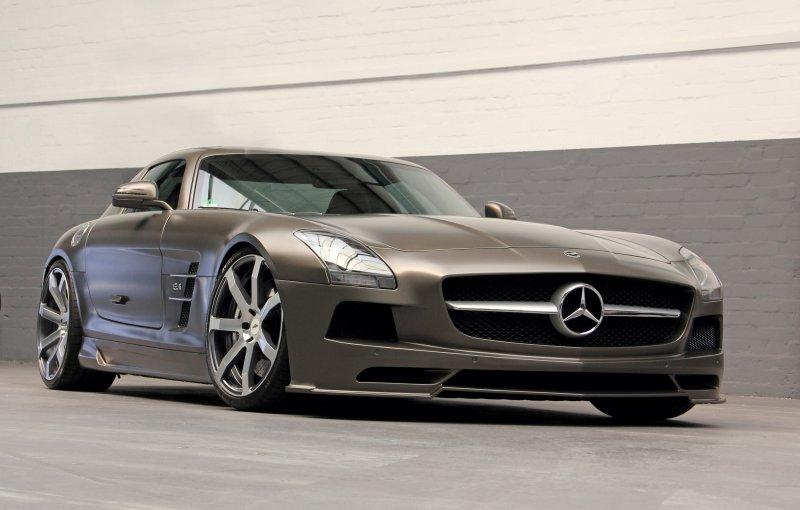 Mercedes-Benz SLS AMG в тюнинге DD Customs