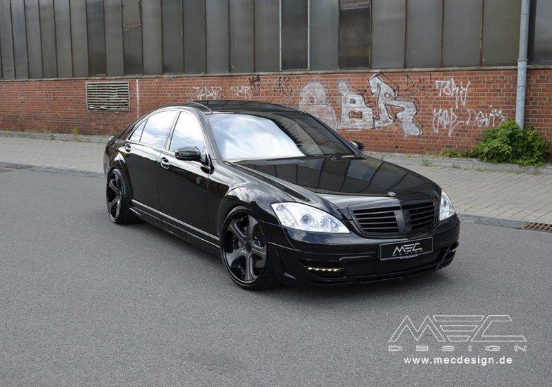 Mercedes-Benz S-Class W221 в тюнинге MEC Design