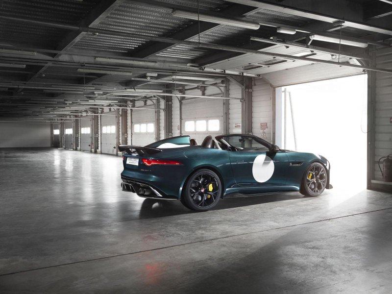 Jaguar рассекретил серийный родстер F-Type Project 7