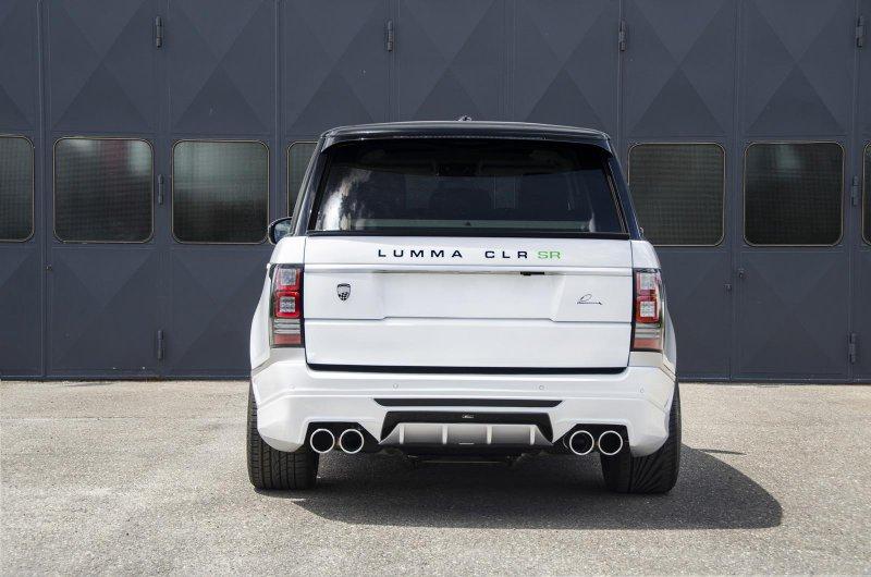 В Гудвуде покажут новый Lumma Range Rover CLR SR