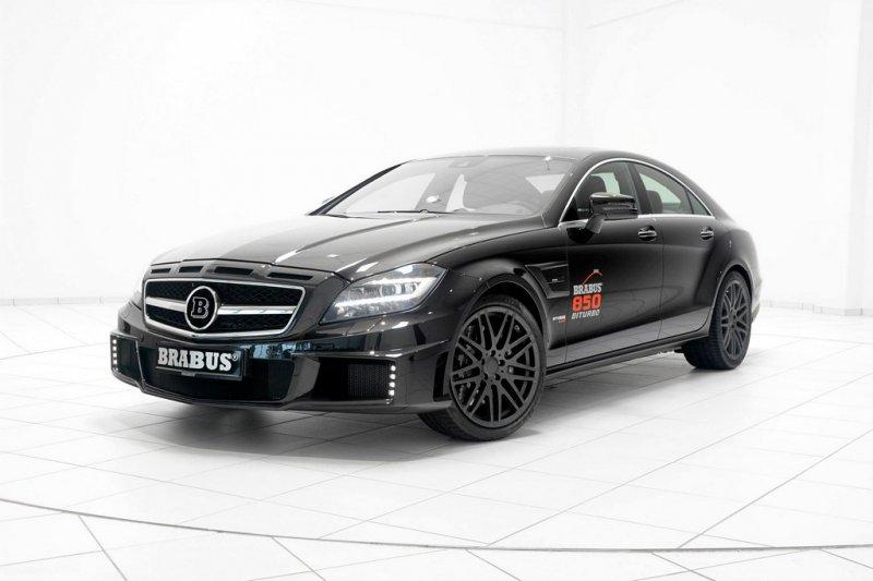 Mercedes-Benz CLS63 AMG превратили в Brabus850