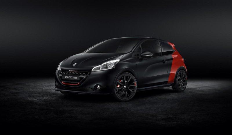 Компания Peugeot выпустила спецверсию 208 GTi 30th Anniversary