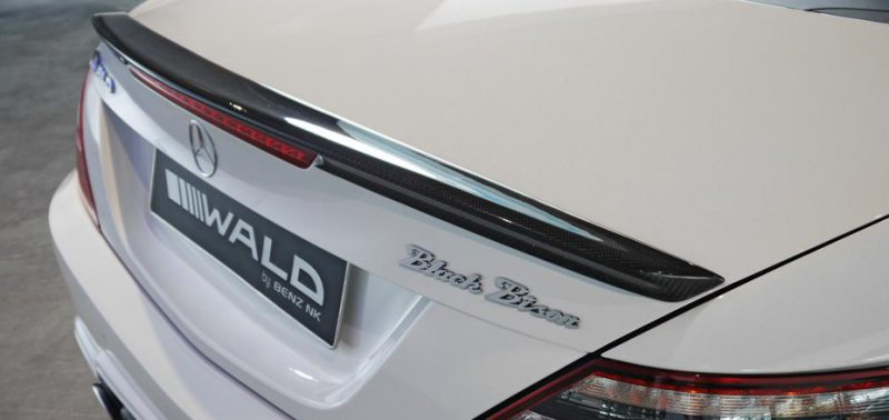 Mercedes-Benz SLK (R172) Black Bison от Wald International