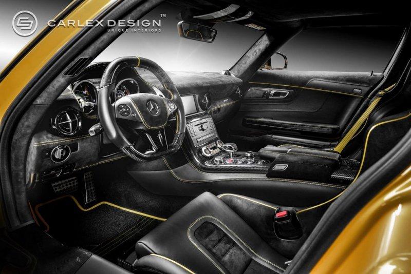 Mercedes SLS Black Series от Carlex Design