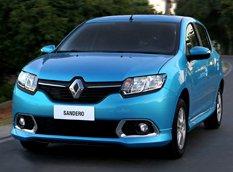 Renault представил новый хэтчбек Sandero для Бразилии