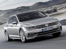 Volkswagen опубликовал фото нового поколения Passat B8