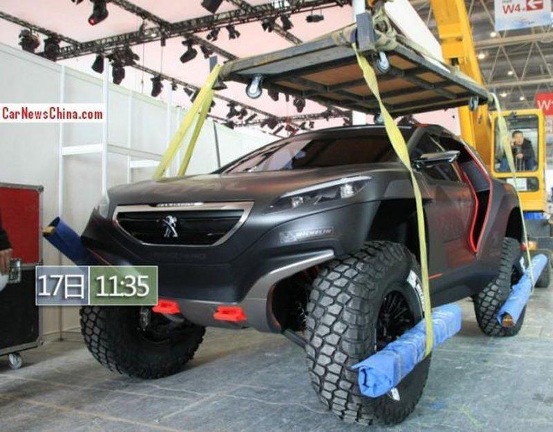 Peugeot полностью рассекретил раллийный внедорожник 2008 DKR