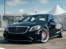Mercedes-Benz S63 AMG W222 �� ������ ADV.1 Wheels