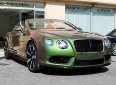 Bentley Continental GTC V8S от Elite Wrap