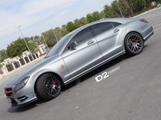 Mercedes-Benz CLS500 на дисках D2Forged Wheels