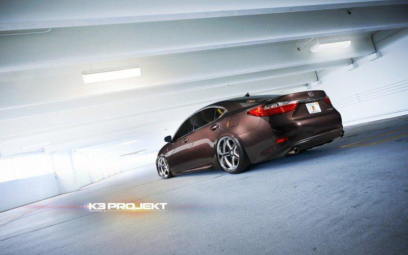 Lexus ES350 2013 на дисках K3 Projekt