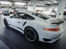 Porsche Exclusive представил 911 Turbo S GB Edition