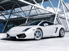 Lamborghini Gallardo Twin-Turbo �� ������ ADV.1 Wheels