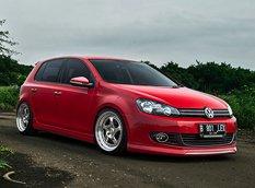 Эксклюзивный Volkswagen Golf из Индонезии