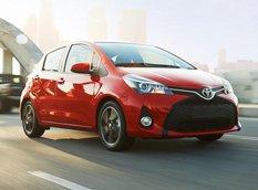 Toyota представила обновленный Yaris для рынка США