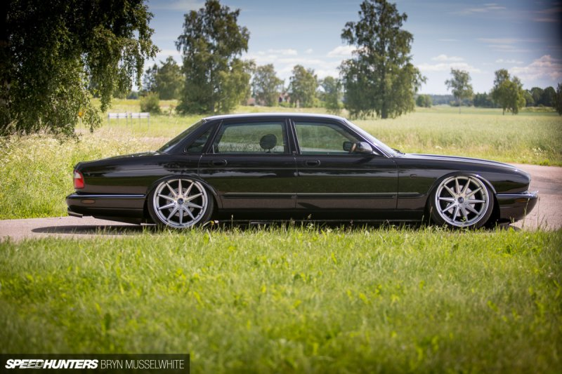Jaguar XJR в роскошном VIP-тюнинге из Швеции